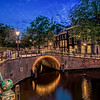 One of the 1500 bridges in Amsterdam